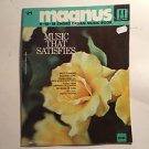 "Magnus Chord Organ Music"" Music That satisfies "" , # 21 ,  6 -12 -16 chord"