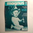 """Magnus Chord Organ Music"""" Make Way For The Irish"""" , # 24 , 12 - 16 chord"""