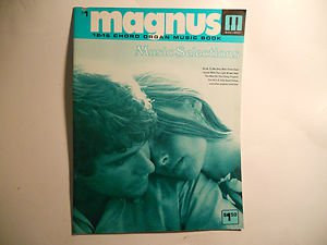 "Magnus Chord Organ Music"" Music Selections "" , # 1 , 12 - 16 chord"