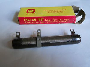 Ohmite Resistor  0562 , 50 WATTS , 25 OHMS