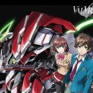 Fabric Poster: Valvrave the Liberator - Haruto, Shoko and Saki (Wall Art)