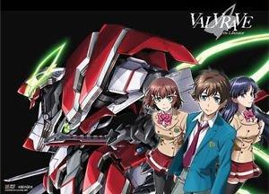Fabric Poster: Valvrave the Liberator - Haruto, Shoko and Saki (Wall Art)