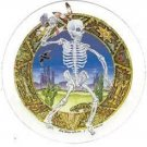 Southwest Skeleton Indian Decal Sticker Art of Greg Speirs