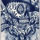Lucky 1969 Sugar Skull Gambler Hard Plastic Cell Phone Case for iPhone 5/5S