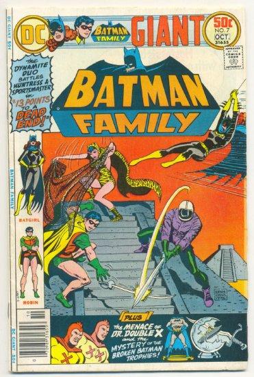 Batman Family #7 HTF Giant Batgirl & Robin Issue 1976 !