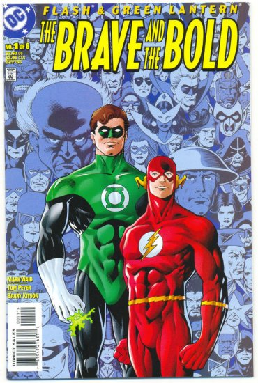 The Brave And The Bold #1 Flash & Green Lantern 1999 Series