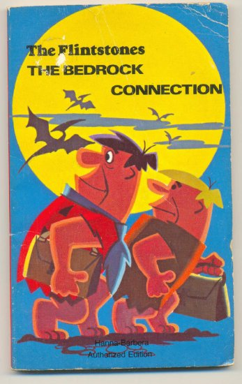 The Flintstones The Bedrock Connection SC Hanna Barbera 1974