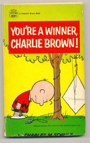 You're A Winner Charlie Brown! SC Fawcett Crest 1960