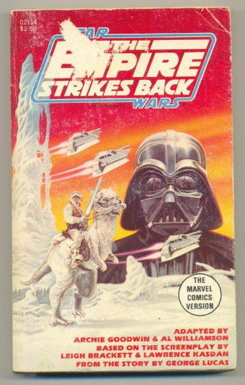 Marvel Comics Star Wars The Empire Strikes Back SC HTF!