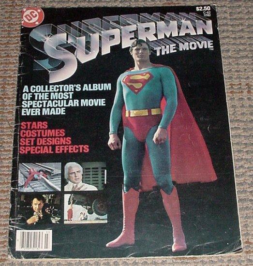 Superman The Movie DC Treasury 1979 C-62 Christopher Reeve