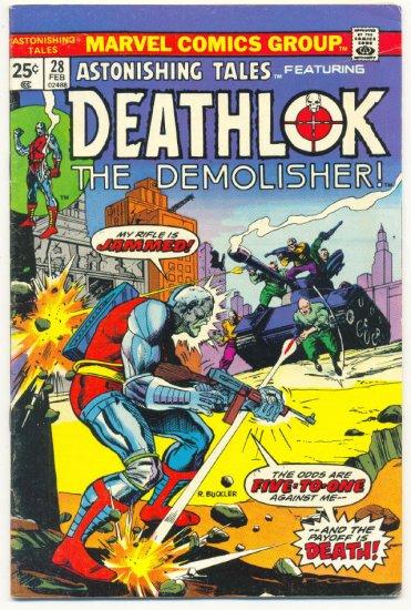 Astonishing Tales #28 Deathlok The Demolisher - Five To One vs Deathlok !