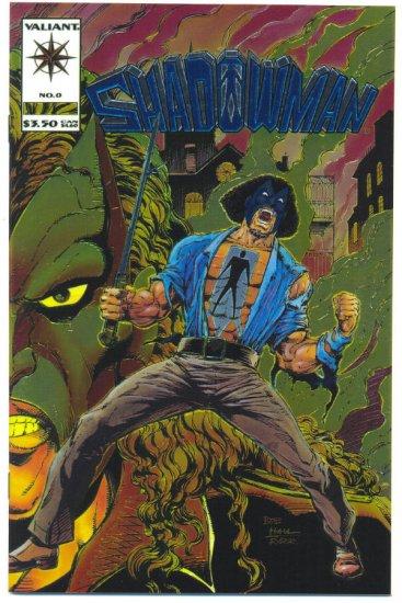 Shadowman #1 Fancy Foil Cover Origin Issue 1994 Valiant !