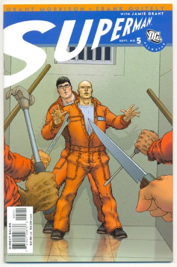 All-Star Superman #5 The Sentence Is Death for Luthor !