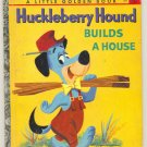 Vintage Huckleberry Hound Little Golden Book 1959 !