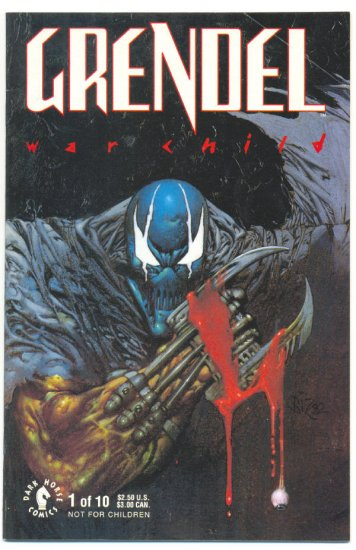 Grendel War Child #1 Matt Wagner Mature Readers !
