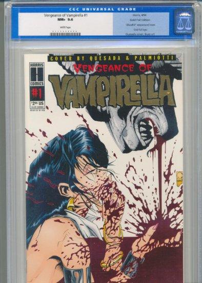 Vengeance Of Vampirella #1 Gold Variant CGC 9.6 !