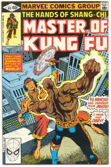 Master Of Kung Fu #88 Warrior Of The Golden Dawn Zeck Art !