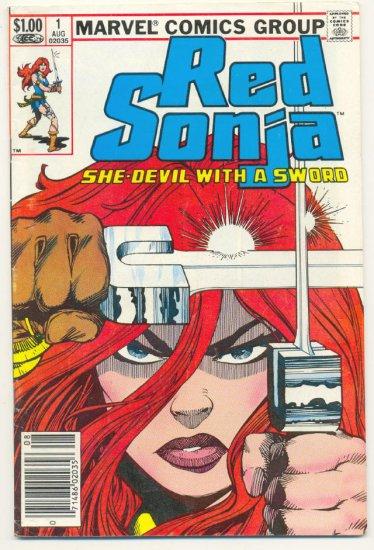 Red Sonja #1 1983 Marvel Series Simonson Art !