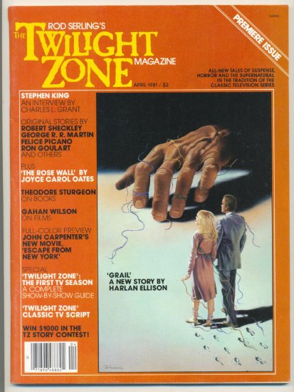 Rod Serling's Twilight Zone Magazine #1 Apr 1981 HTF !