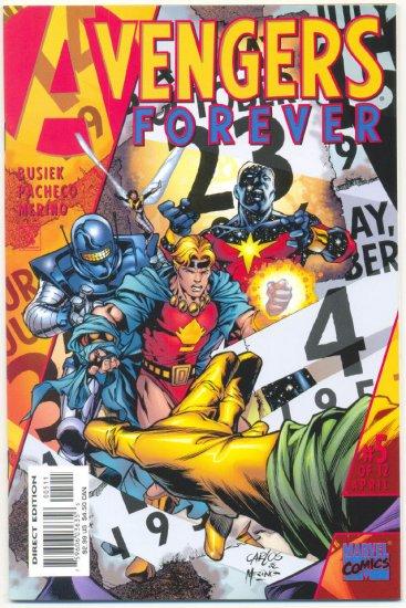 Avengers Forever #5 Pacheco Art NM !