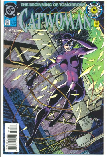 Catwoman #0 Origin Issue Balent Art NM !