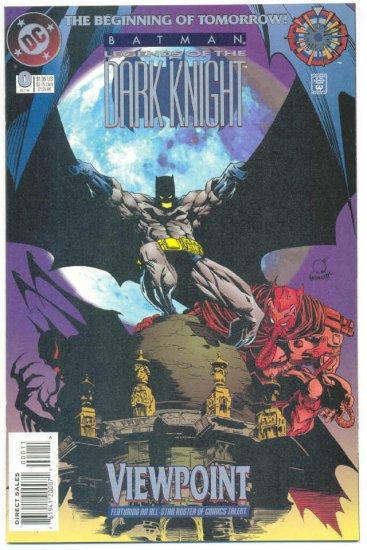 Legends Of The Dark Knight #0 Batman NM !