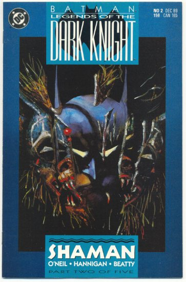 Legends Of The Dark Knight #2 Batman VFNM !