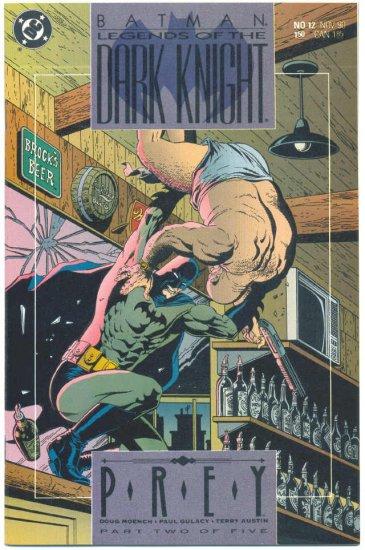 Legends Of The Dark Knight #12 Batman Gulacy Art NM !