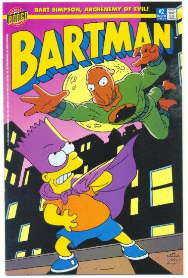 Bartman #2 (The Simpsons) Bongo Comics 1999 !