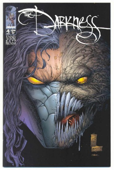 The Darkness #4 1997 Silvestri Art NM !
