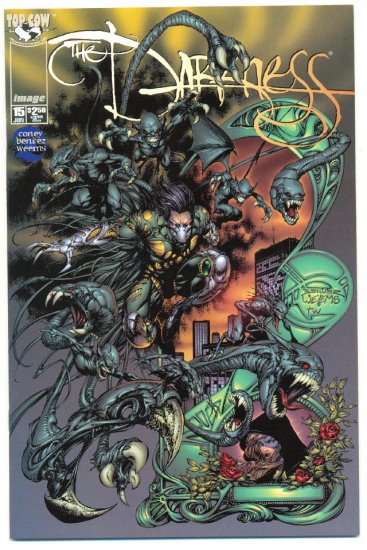 The Darkness #15 1998 Benitez Art NM !