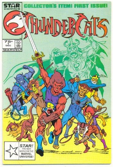 Thundercats #1 1985 Marvel/Star Cartoon series Classic Mooney Art!