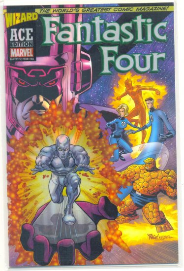 Fantastic Four #48 Wizard Ace Edition NM !