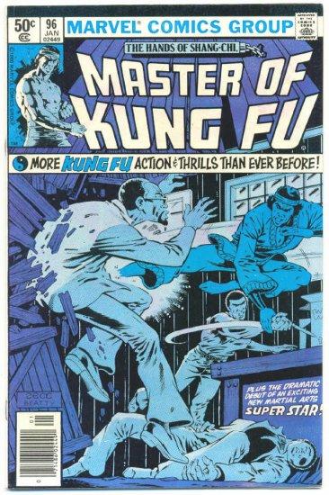Master Of Kung Fu #96 1st App One-Eye Carter Zeck Art !