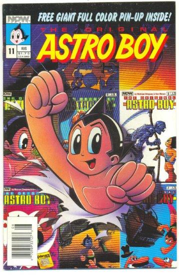 Astro Boy #11 12 & 16 Now Comics w/ Pin-Up insert VFNM