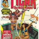 Marvel Chillers #4 Tigra VS Kraven Classic HTF Bronze !