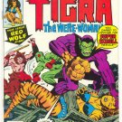 Marvel Chillers #7 Tigra VS Super Skrull HTF Last Issue !