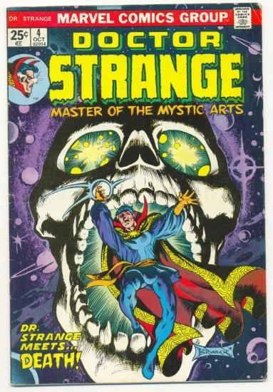 Doctor Strange #4 1974 Brunner Art HTF Classic !