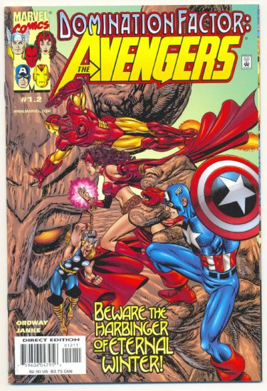 Domination Factor 1.2 The Avengers 1999 HTF book