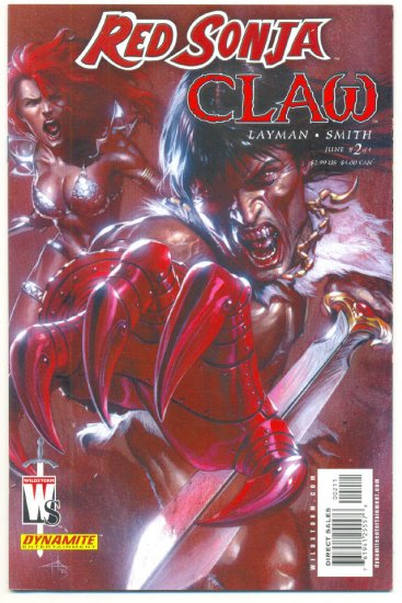 Red Sonja Claw #2 of 4 Wildstorm