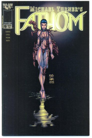 Fathom #6 Michael Turner Art 1999 VF