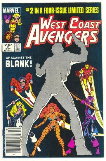 West Coast Avengers #2 1984 Miniseries