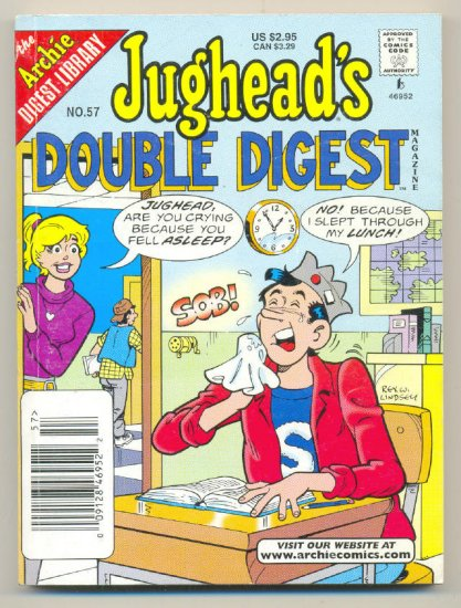 Jughead's Double Digest #57 Archie Comics 1999 VF !