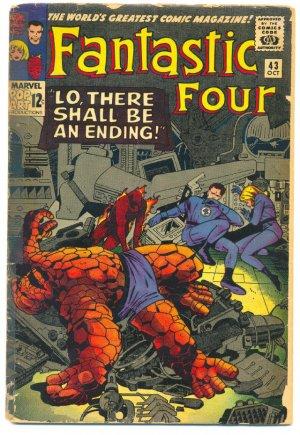 Fantastic Four #43 Frightful Four & Dr. Doom 1965 Kirby Classic !