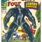 Fantastic Four #64 vs The Sentry Sinester 1967 Kirby Classic !