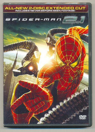 Spider-Man 2.1 Special 2-Disc Extended Cut DVD !