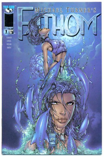 Michael Turner's Fathom #1 Dolphin Cover NM-