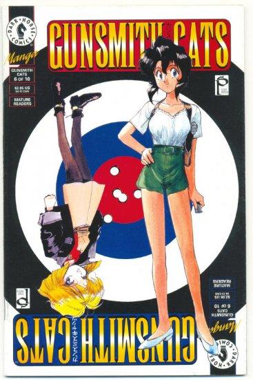 Gunsmith Cats #6 Kenichi Sonoda Dark Horse 1995 !