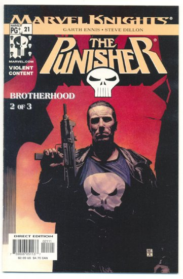 The Punisher #21 Ennis/Dillon The Brotherhood pt 2 Marvel Knights