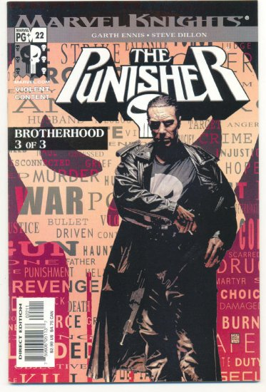 The Punisher #22 Ennis/Dillon The Brotherhood pt 3 Marvel Knights
